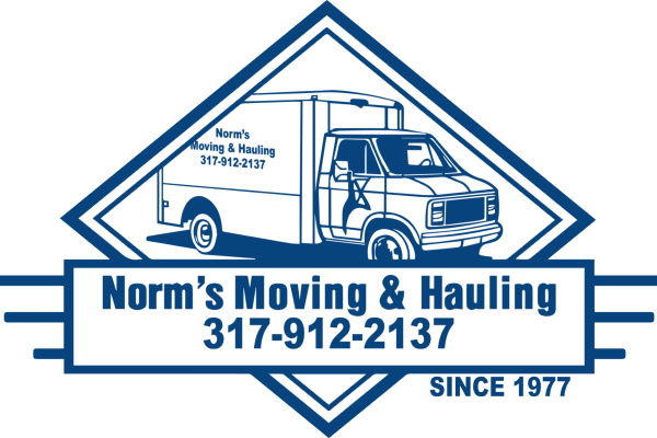 Norms Moving & Hauling Logo - Moving Hauling Trash Removal Professional Packaging Office Tear Down and Rebuild